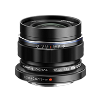 New Olympus M.ZUIKO DIGITAL ED 12mm f2.0 Lens Black (FREE DELIVERY + 1 YEAR WARRANTY)