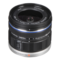 New Olympus M.ZUIKO DIGITAL ED 9-18mm F4.0-5.6 Lens (FREE DELIVERY + 1 YEAR WARRANTY)