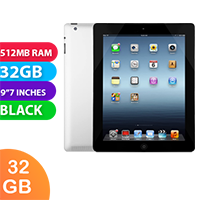 Used as demo Apple iPad 2 32GB Wifi + Cellular Space Gray/Black (6 month warranty + 100% Genuine)
