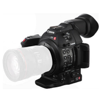 Canon EOS C100 Mark II Body EF Cinema EOS Camera with CMOS AF (1 YEAR WARRANTY)