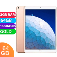"New Apple iPad Air 10.5"" Wifi 64GB Gold (FREE DELIVERY + 1 YEAR WARRANTY)"