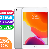 New Apple iPad Mini 5 256GB WIFI Tablet Silver (FREE DELIVERY + 1 YEAR WARRANTY)