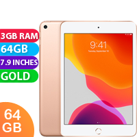 New Apple iPad Mini 5 64GB WIFI Tablet Gold (FREE DELIVERY + 1 YEAR WARRANTY)