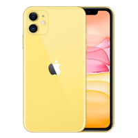 UNLOCKED New Apple iPhone 11 128GB 4G LTE Yellow (FREE DELIVERY + 1 YEAR WARRANTY)