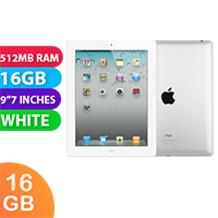 Used as demo Apple iPad 2 16GB Wifi + Cellular White (6 month warranty + 100% Genuine)