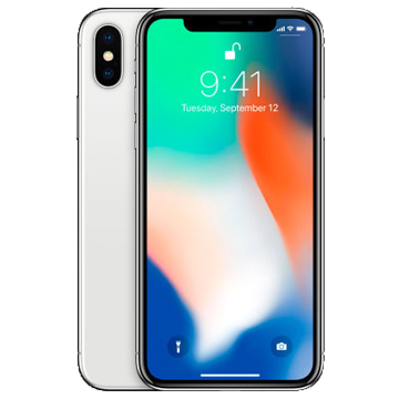 UNLOCKED New Apple iPhone X 256GB 4G LTE Silver (FREE DELIVERY + 1 YEAR WARRANTY)