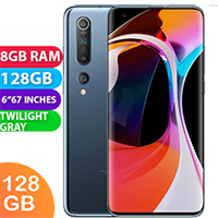 UNLOCKED New Xiaomi Mi 10 128GB 8GB RAM 5G Smartphone Twilight Grey (FREE DELIVERY + 1 YEAR WARRANTY)