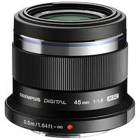 Olympus M.Zuiko Digital ED 45mm F1.8 Lens Black (1 YEAR WARRANTY)