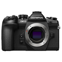 Olympus OM-D E-M1 20MP Mark II Body Black (1 YEAR WARRANTY)