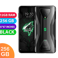 UNLOCKED New Xiaomi Black Shark 3 256GB 12GB RAM 5G Smartphone Lightning Black (FREE DELIVERY + 1 YEAR WARRANTY)